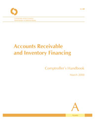 Comptroller's Handbook: Accounts Receivable and Inventory Financing Cover Image