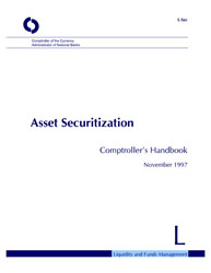Comptroller's Handbook: Asset Securitization Cover Image