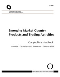 Comptroller's Handbook: Emerging Market Country Products and Trading Activities Cover Image