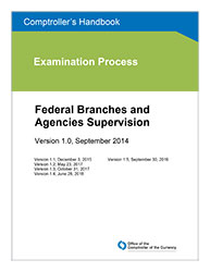 Comptroller's Handbook: Federal Branches and Agencies Supervision Cover Image